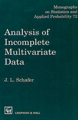 Analysis of incomplete multivariate data 72 algorithms and e xamples - Schafer, j.l.