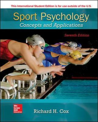 Sport Psychology Concepts&Applications - Cox, Richard H.,