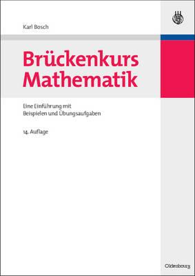 Brückenkurs Mathematik - Bosch, Karl