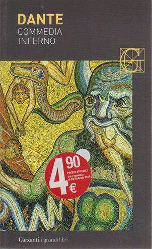 La Divina Commedia inferno - Alighieri, Dante