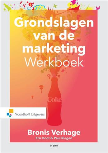 Grondslagen van de marketing werkboek en cases