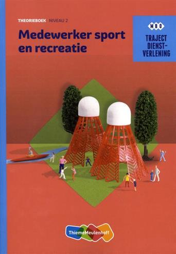 (ECK) Traject Combipakket Dienstverlening Medew Sport en recreatie niveau 2 boek en verwerkingslicen