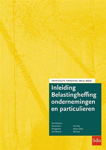 Inleiding Belastingheffing ondernemingen en particulieren. 2020. 20e herziene druk. 2020, G.M.C.M. S
