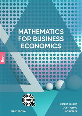Mathematics for Business Economics - Hamers, Herbert