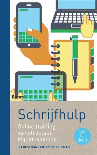 Schrijfhulp. online training van structuur, stijl en spelling, Hesemans, Lia, Paperback