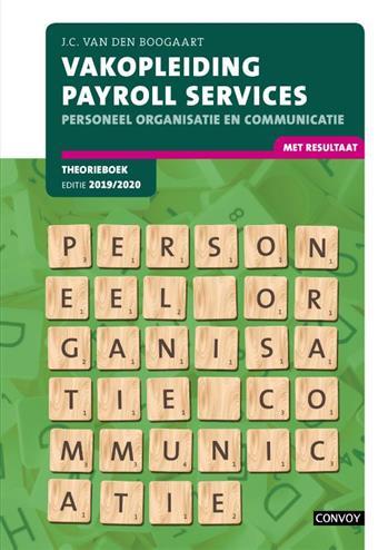VPS Personeel Organisatie Communicatie: 2019-2020: Theorieboek. J.C. van den Boogaart, Paperback