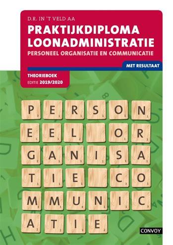 PDL Personeel Organisatie Communicatie: 2019-2020: Theorieboek. D.R. in 't Veld, Paperback