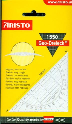 4006856891430 - Geodriehoek Aristo 1550 160mm (736300)