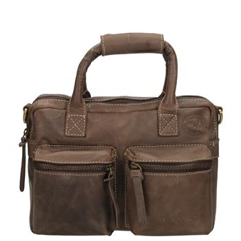 8717924049382 - Westernbag MicMAc extra large donker bruin