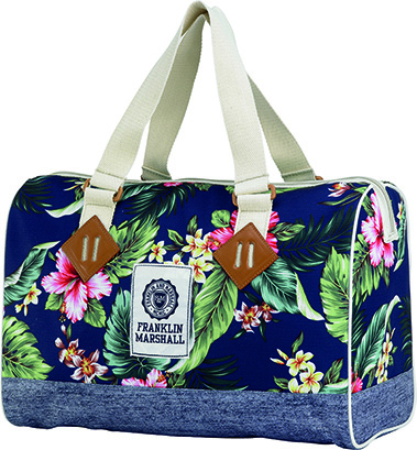8718803450558 - Franklin & Marshall Girls schoudertas multicolour