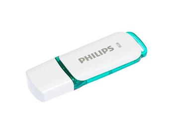 8719274667896 - Usb-stick Philips 2.0 8gb Snow edition green
