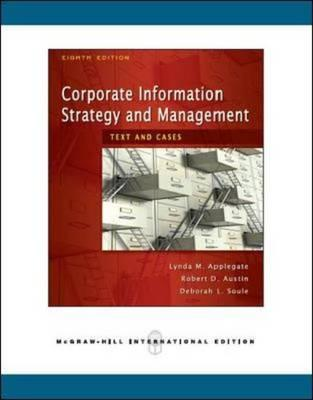 9780071263191 - Corporate information strategy and management text and cases