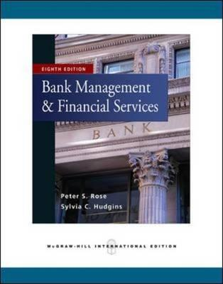 9780071267878 - Bank management and financial services