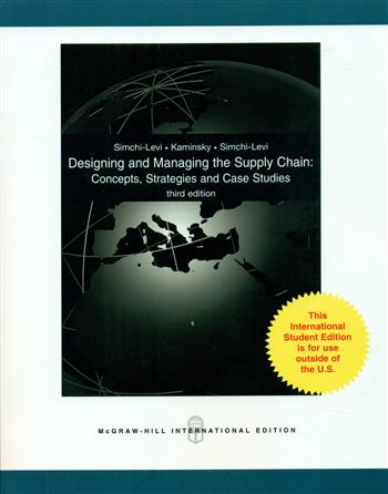 9780071287142 - Designing and managing the supply chain