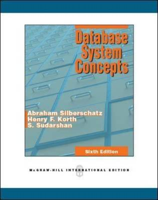 9780071289597 - Database system concepts, 6/e