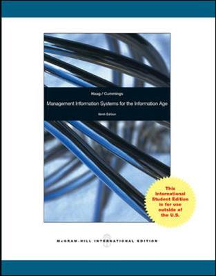 9780071314640 - Management Information Systems for the Information Age