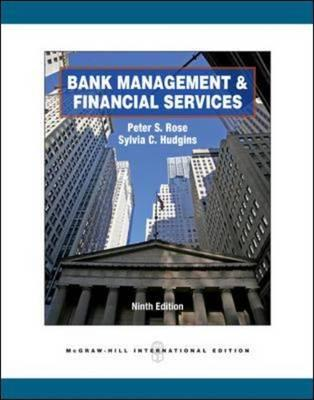 9780071326421 - Bank Management And Financial Services
