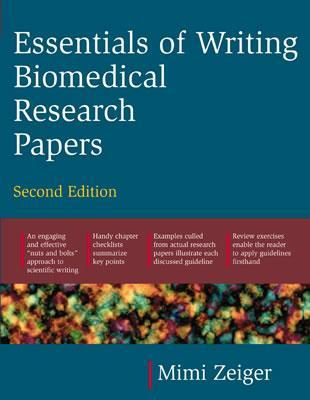 9780071345446 - Essentials of writing biomedical research papers