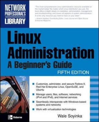 9780071545884 - Linux administration a beginner's guide