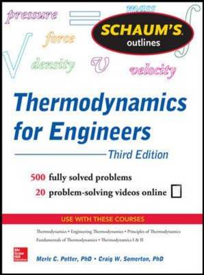 9780071830829 - Schaum's Outline Of Thermodynamics For Engineers