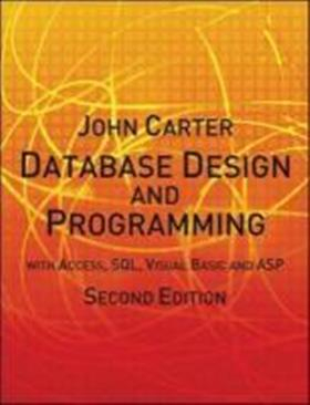 9780077099862 - Carter database design and programming with access