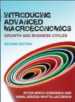 9780077117863 Introducing advanced macroeconomics: growth and business cycles