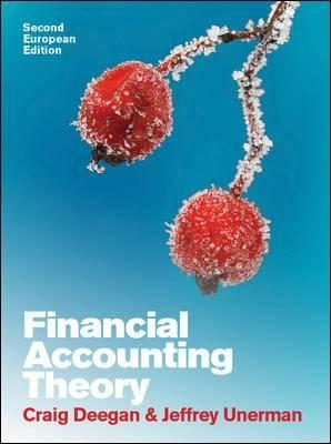 9780077126735 - Financial accounting theory