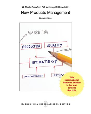 9780077170530 - New Products Management