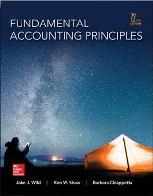9780077862275 - Fundamental Accounting Principles