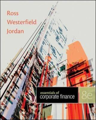 9780078034756 - Essentials of Corporate Finance