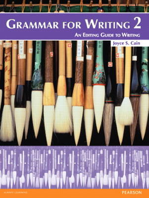 9780132088992 - Grammar for Writing 2