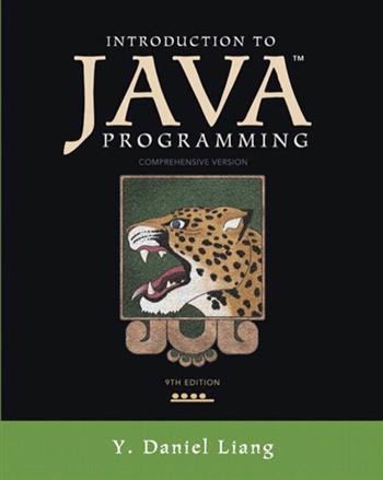 9780132954495 - Introduction to Java Programming, Comprehensive Version