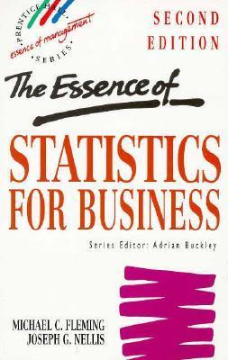 9780133987775 - The Essence Of Statistics For Business