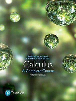 9780134588674 - Calculus: a complete course plus mymathlab with pearson eText access card package