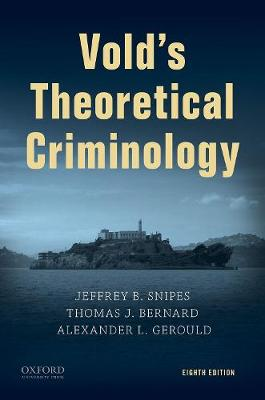 9780190940515 - Vold's Criminological Theory