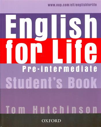 9780194307598 - English for life pre-intermediate student's book