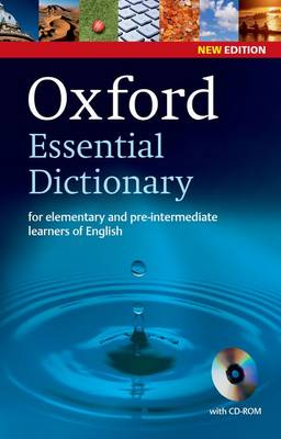 9780194334037 - Oxford Essential Dictionary, New Edition with CD-ROM