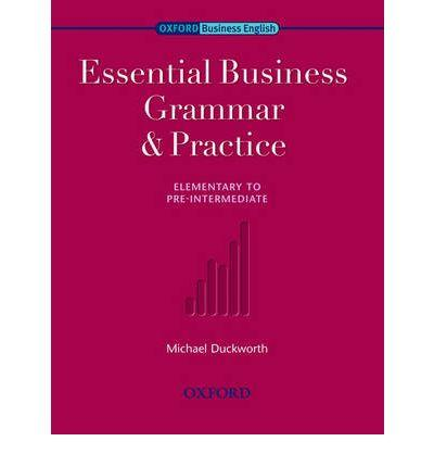 9780194576253 - Essential business grammar and practice