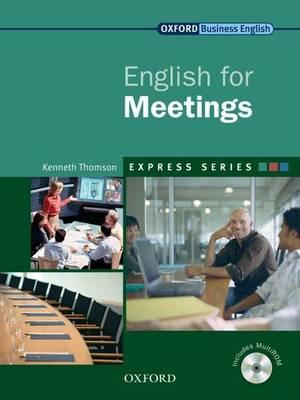 9780194579339 - Express Series English for Meetings Student's Book and Multirom A Short, Specialist English Course