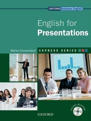 9780194579360 - English For Presentations: Student's Book Pack