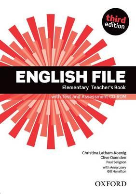 9780194598743 - English file elementary teacher's book