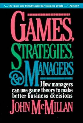 9780195108033 - Games, Strategies and Managers