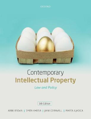 9780198799801 - Contemporary Intellectual Property