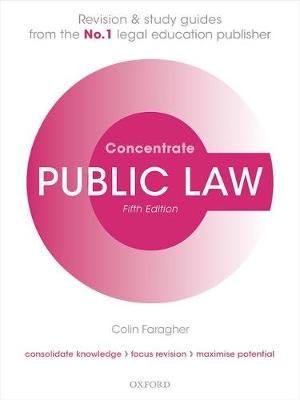 9780198803898 - Public Law Concentrate