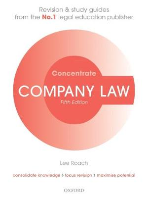 9780198815143 - Company Law Concentrate: Law Revision and Study Guide