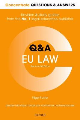 9780198817857 - Concentrate Questions and Answers EU Law: Law Q&A Revision and Study Guide