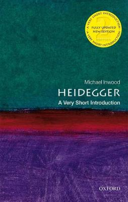 9780198828662 - Heidegger: A Very Short Introduction