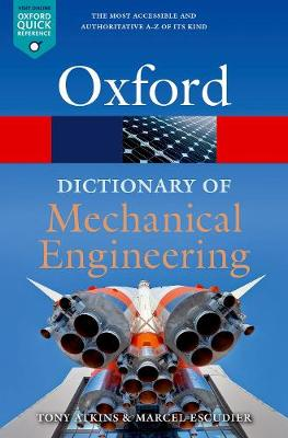 9780198832102 - A Dictionary of Mechanical Engineering