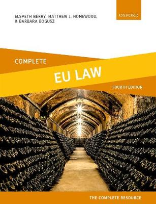 9780198836216 - Complete EU Law
