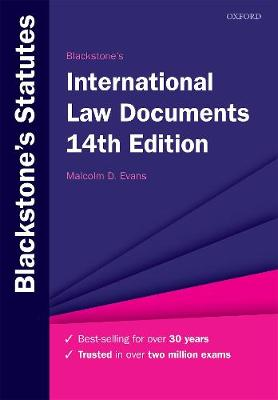 9780198838784 - Blackstones International Law Documents